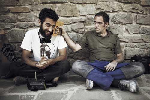 Il regista Edoardo Gabriellini e uno dei protagonisti Valerio Mastandrea
