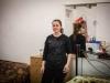 Adriana viene dall'Albania, vive a Livorno da cinque anni. Ha due figli di tre e cinque anni.