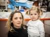 Stefania con sua figlia.
